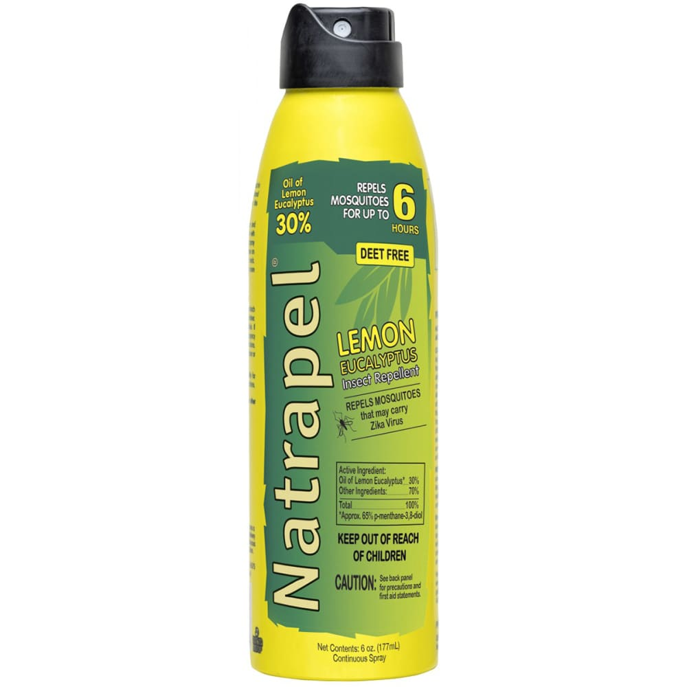 ADVENTURE MEDICAL Natrapel Lemon Eucalyptus Spray, 6 oz. NO SIZE