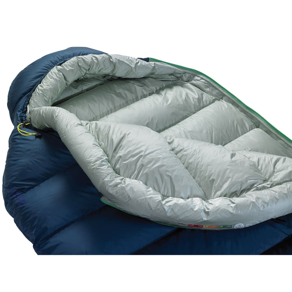 THERM-A-REST Hyperion 20 UL Sleeping Bag, Long - DEEP PACIFIC