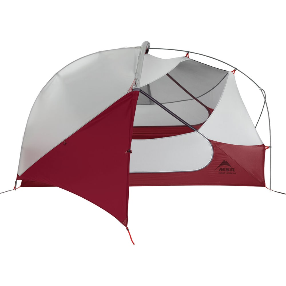 MSR Hubba Hubba NX 2-Person Tent - WHITE/RED