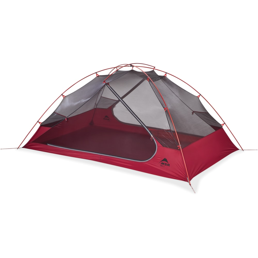 MSR Zoic 2 Person Dome Tent - RED