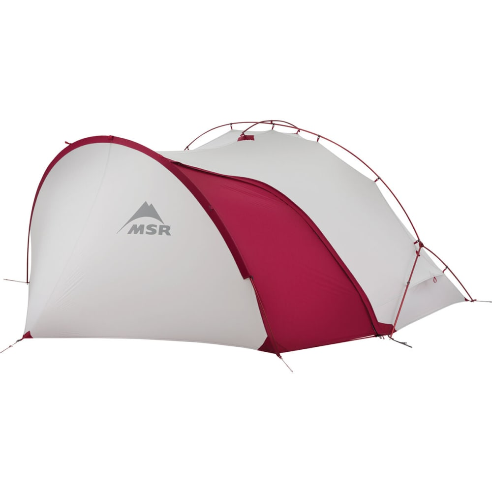 MSR Hubba Tour 1 Tent - WHITE/RED