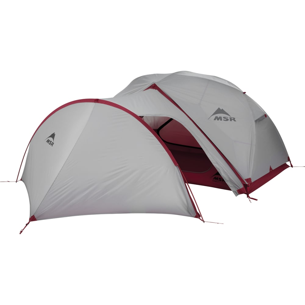 MSR Gear Shed Tent - WHITE/RED