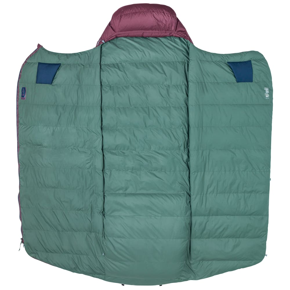 MARMOT Argon 25 Sleeping Bag, Regular - BURGUNDY/TOTAL ECLIP