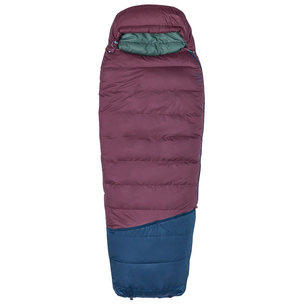 MARMOT Argon 25 Sleeping Bag, Regular - BURGUNDY/TOTAL ECLIP