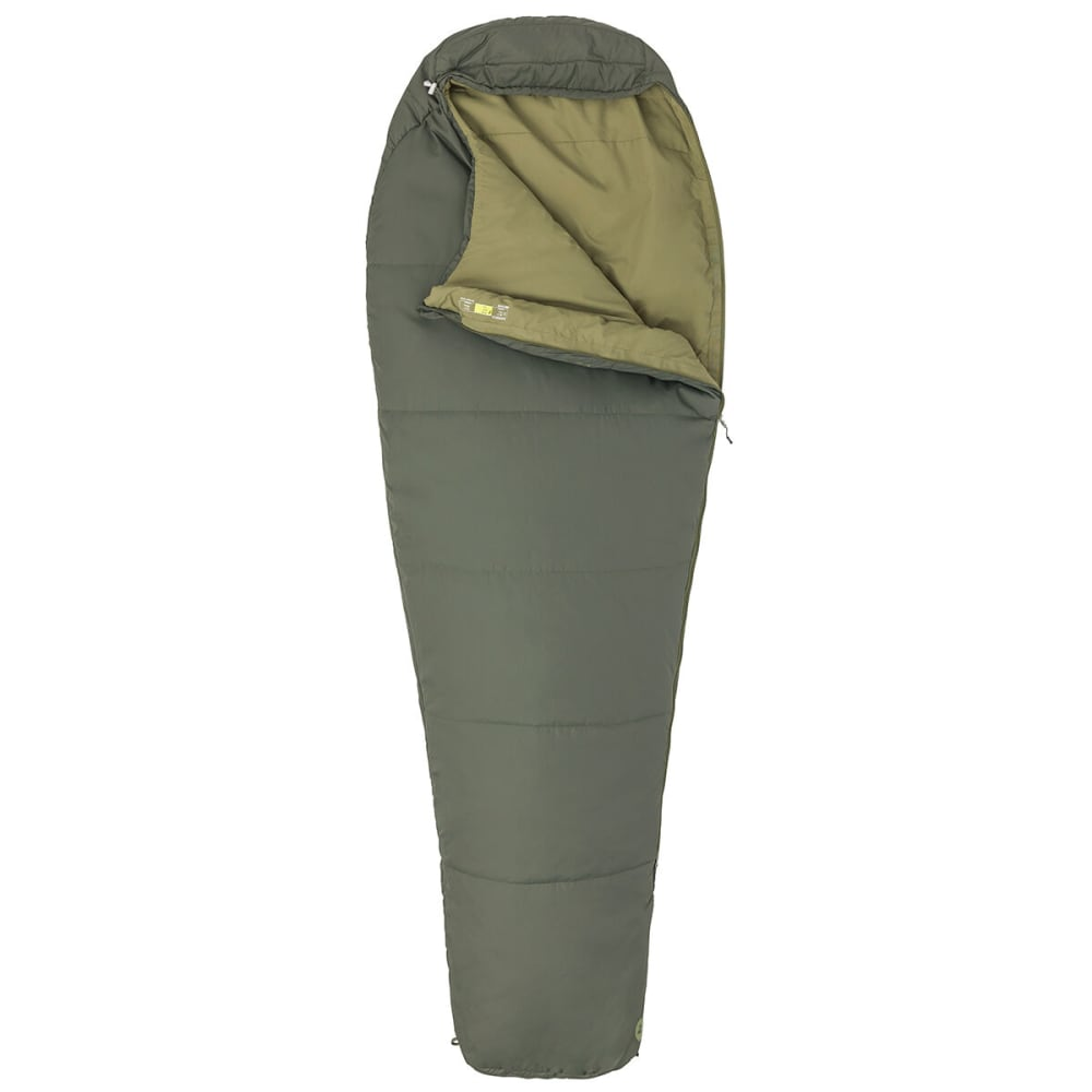 MARMOT Nanowave 35 Sleeping Bag, Regular Length - CROCODILE