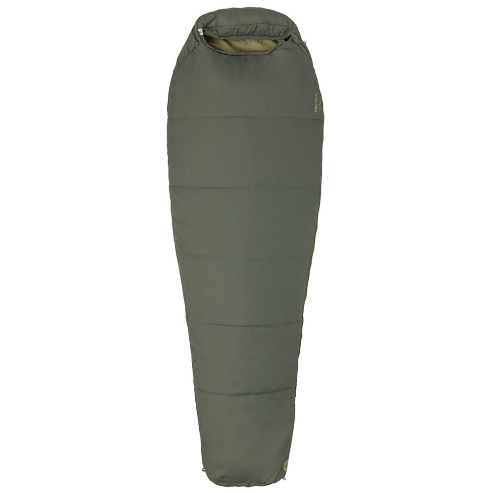 MARMOT Nanowave 35 Sleeping Bag, Regular Length - CROCODILE