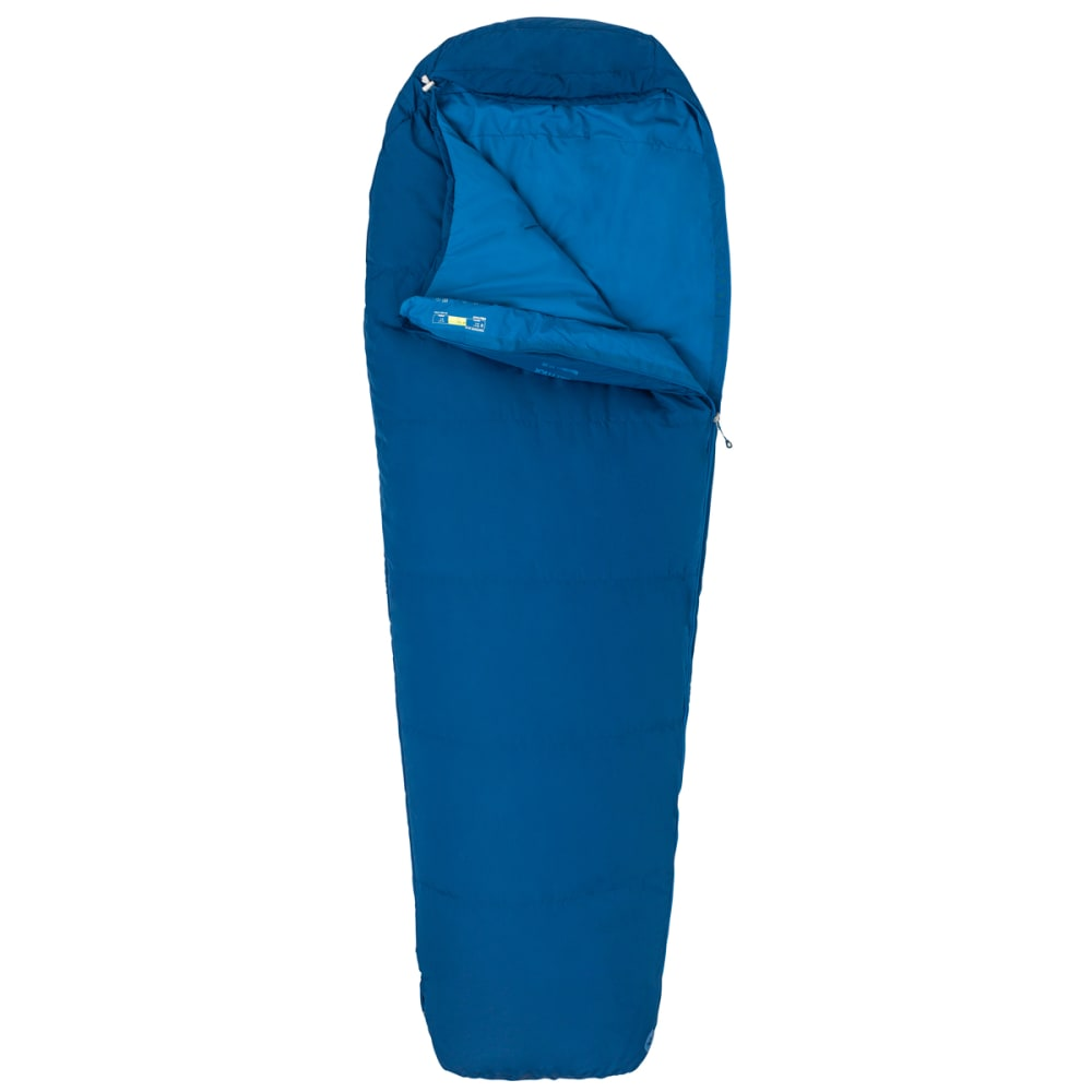 MARMOT Nanowave 50 Semi Rec Sleeping Bag, Regular - ESTATE BLUE