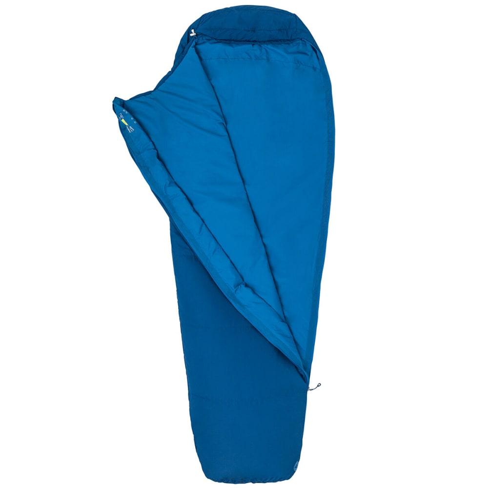 MARMOT Nanowave 50 Semi Rec Sleeping Bag, Long - ESTATE BLUE