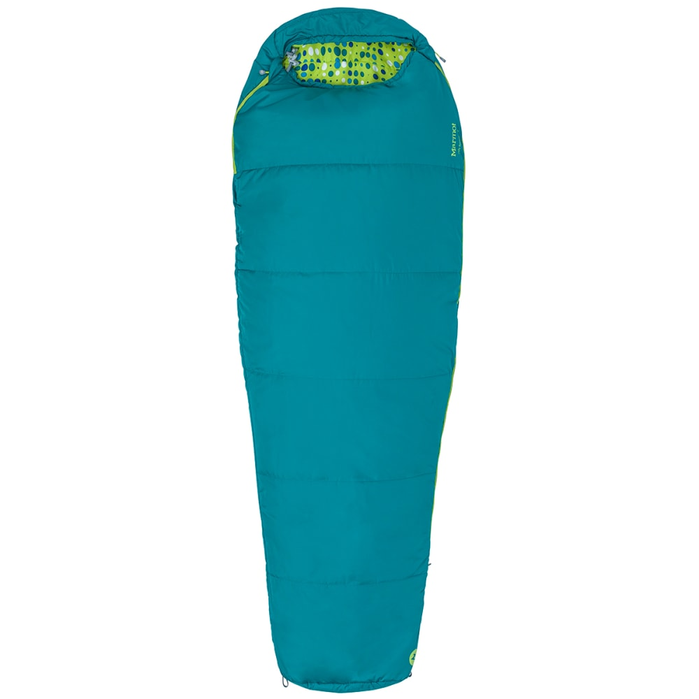 MARMOT Kids' Nanowave 40 Sleeping Bag - MALACHITE