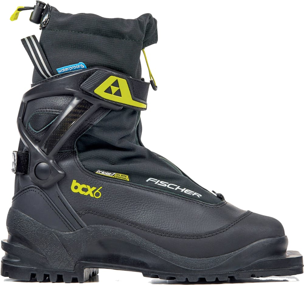 FISCHER BCX 675 Waterproof Ski Boots - BLACK/LIME