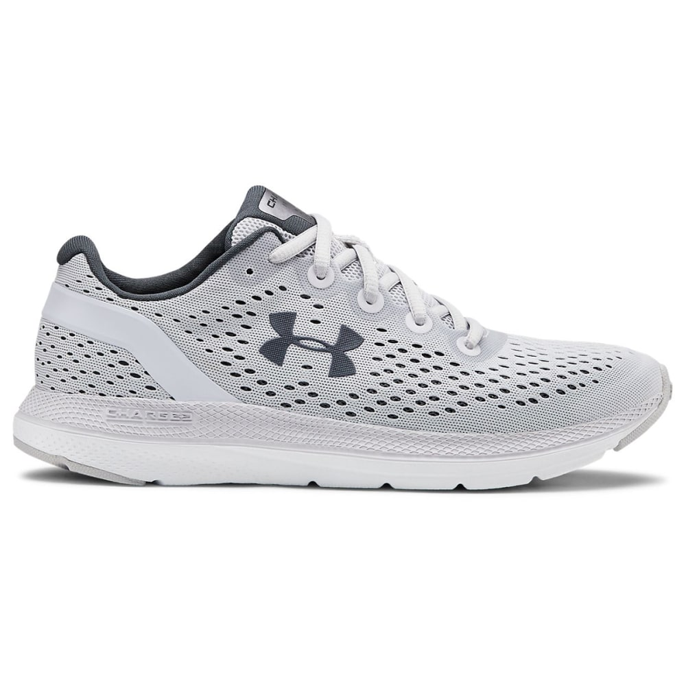 UNDER ARMOUR Women's Charged Impulse Running Shoes - HALO GRY/WHT-101
