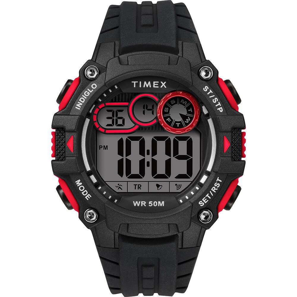TIMEX Men's Big Digit 48mm Watch NO SIZE