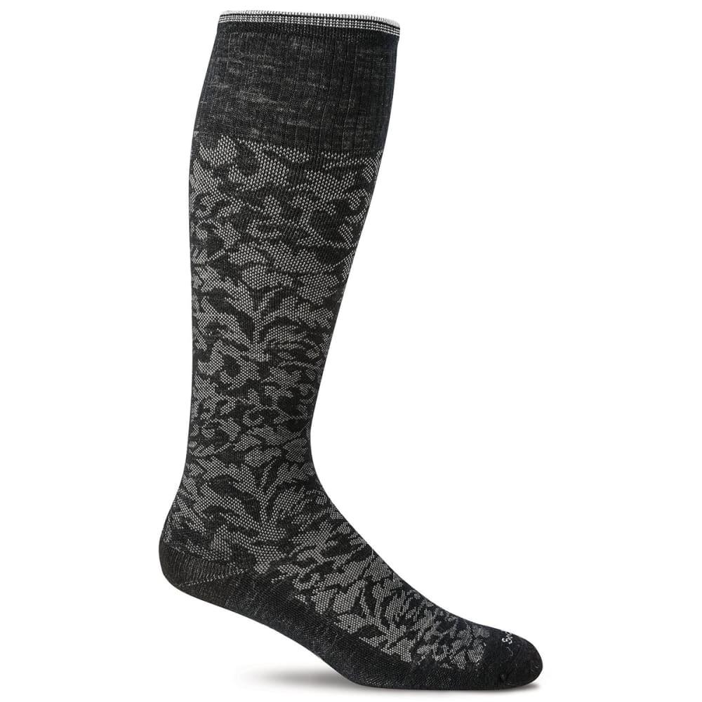 SOCKWELL Women's Damask Graduated Compression Socks S/M
