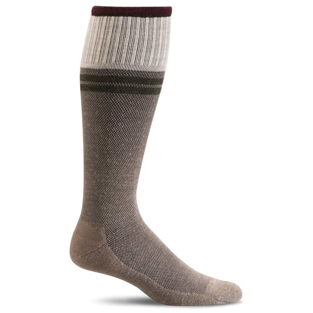 SOCKWELL Men's Sportster Moderate Compression Socks - KHAKI 030