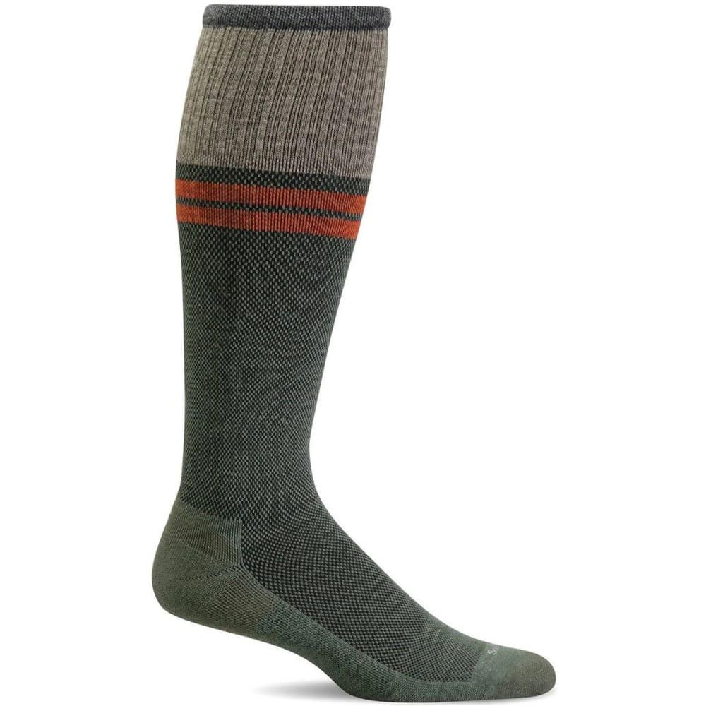 SOCKWELL Men's Sportster Moderate Compression Socks - EUCALYPTUS 465