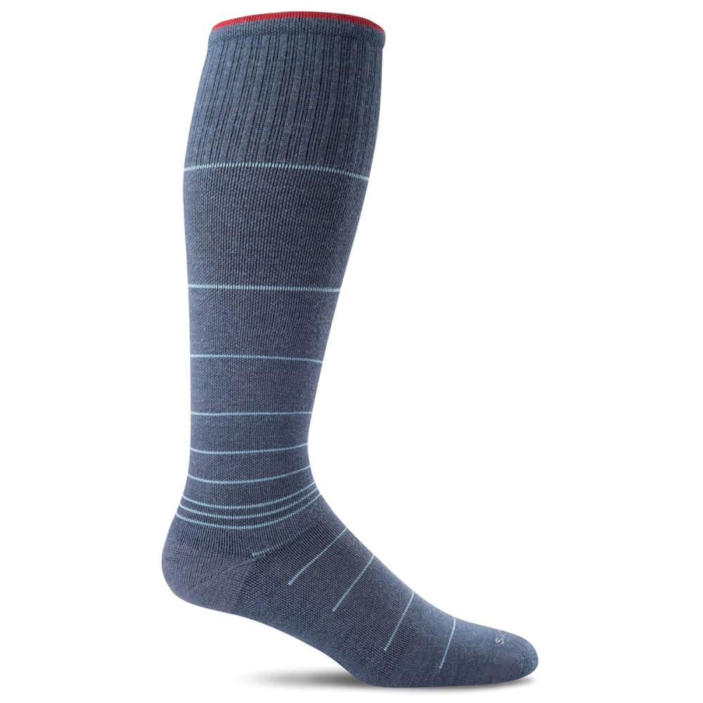 SOCKWELL Men's Circulator Graduated Compression Socks - DENIM BLUE 650