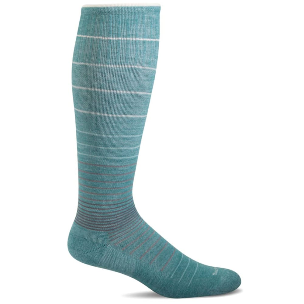 SOCKWELL Women's Sportster Moderate Compression Socks - MINERAL 425