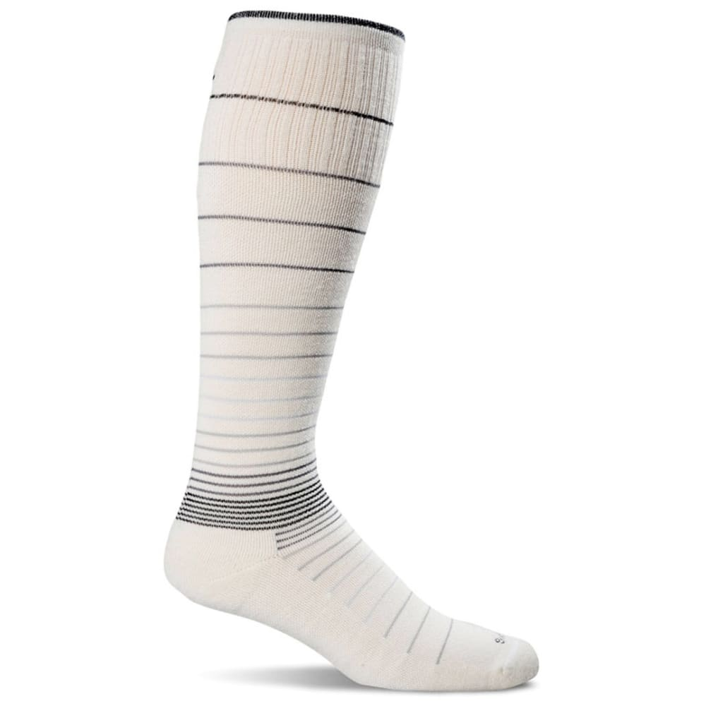 SOCKWELL Women's Sportster Moderate Compression Socks - NATURAL 015