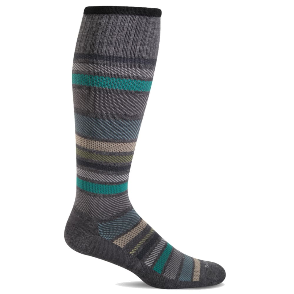 SOCKWELL Men's Twillful Compression Socks - CHARCOAL 850