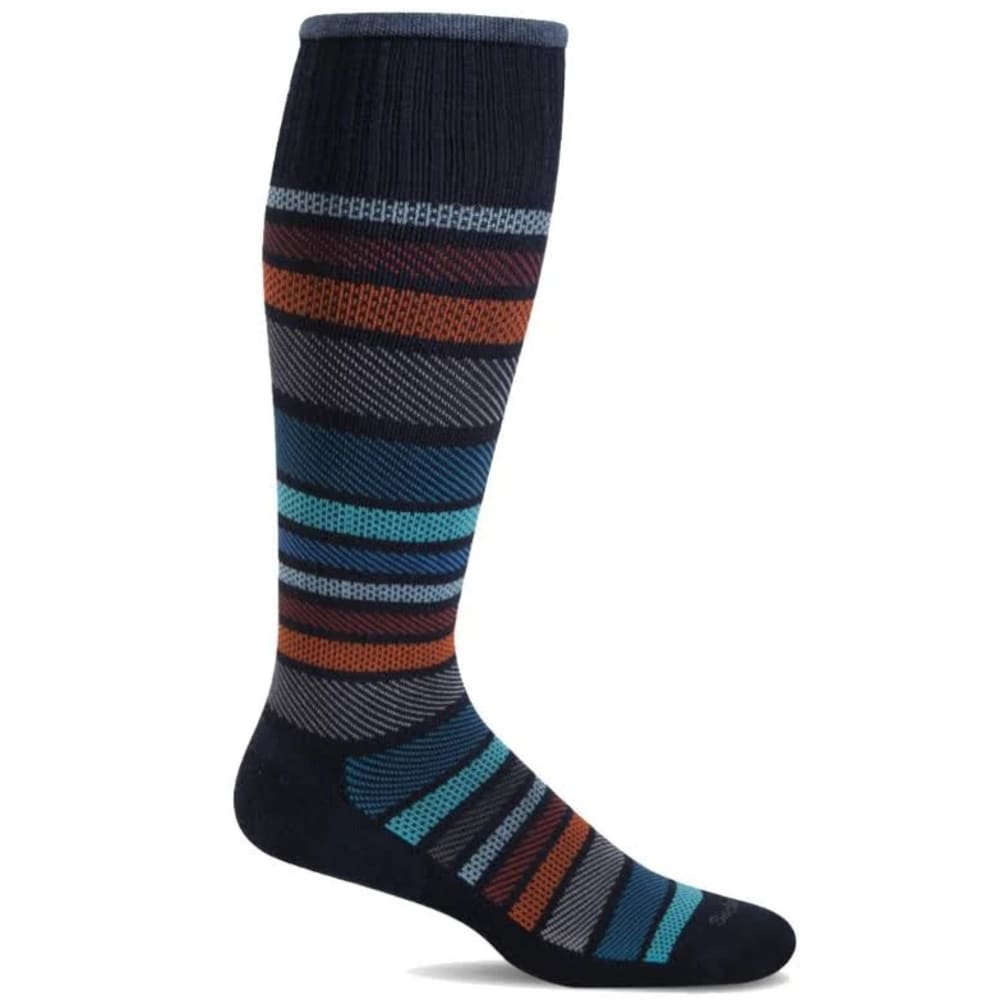 SOCKWELL Men's Twillful Compression Socks - NAVY 600