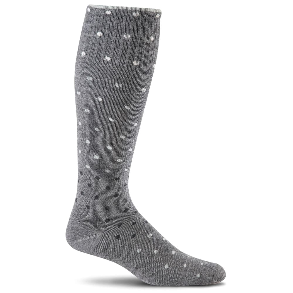 SOCKWELL Women's On The Spot Graduated Compression Socks - CHARCOAL 850