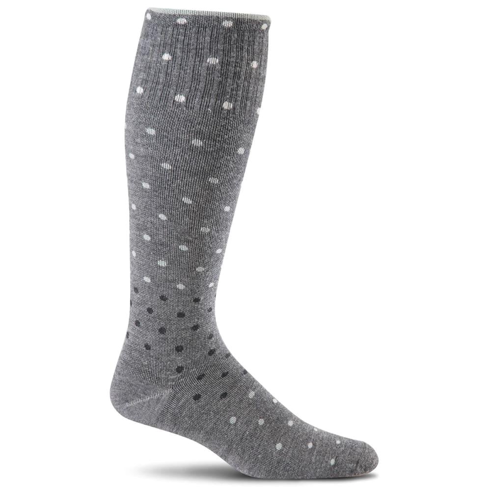 SOCKWELL Women's On The Spot Graduated Compression Socks - CHARCOAL 850