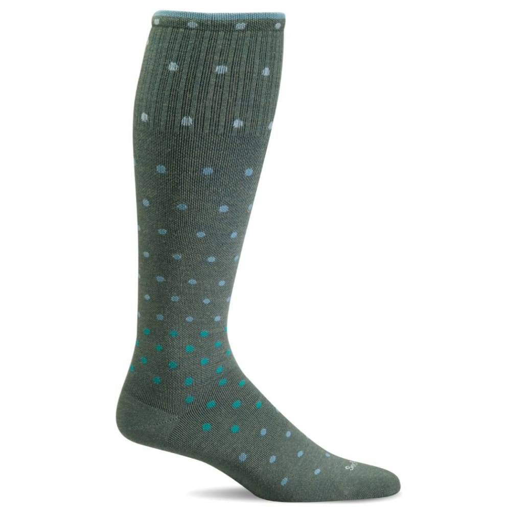 SOCKWELL Women's On The Spot Graduated Compression Socks - EUCALYPTUS 465