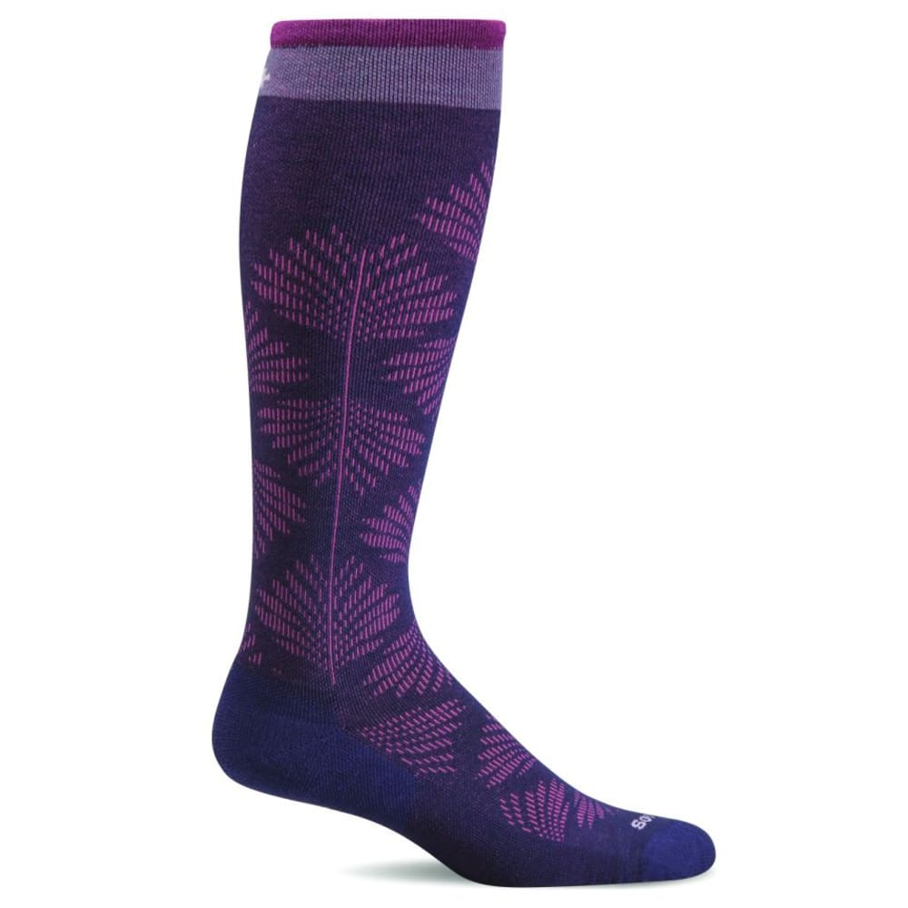 SOCKWELL Women's Floral Compression Socks - CONCORDE 300