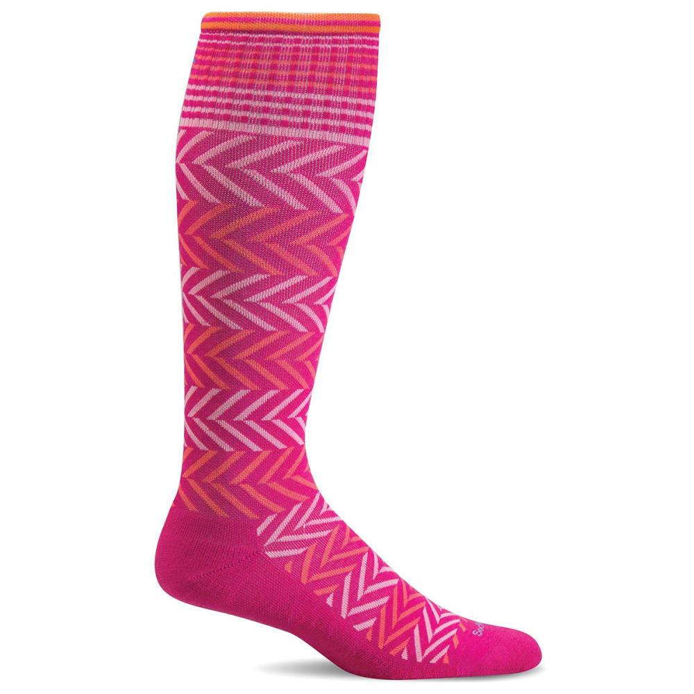 SOCKWELL Women's Chevron Compression Socks S/M