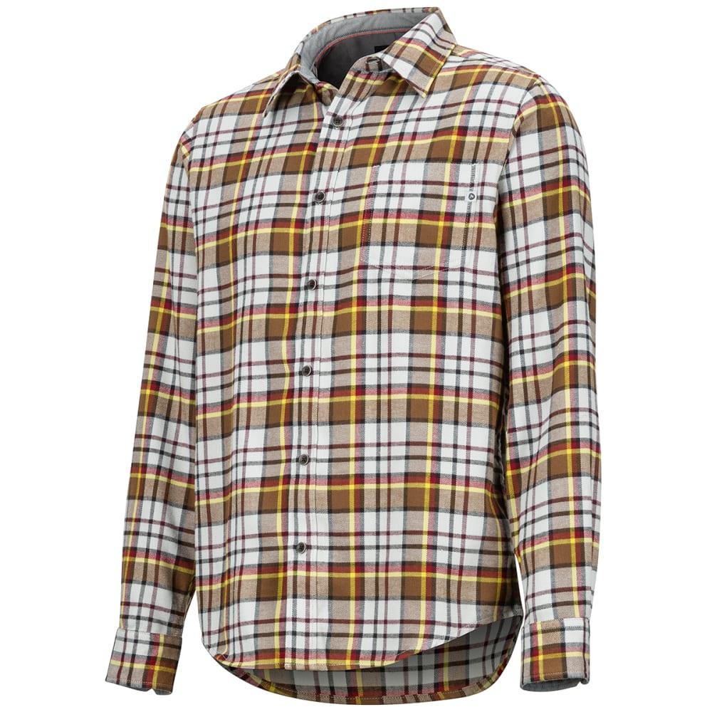 MARMOT Men's Fairfax Flannel Long-Sleeve Shirt - 1862 BRIGHT STEEL