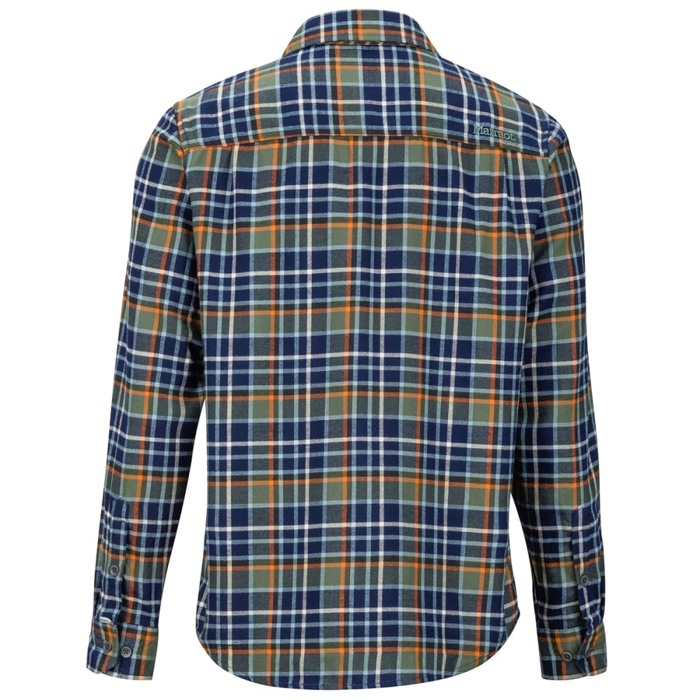 MARMOT Men's Fairfax Flannel Long-Sleeve Shirt - 4764 CROCODILE