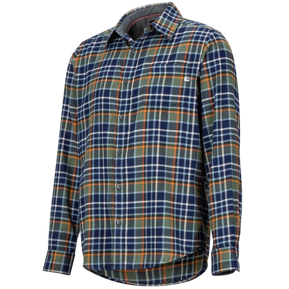 MARMOT Men's Fairfax Flannel Long-Sleeve Shirt - 4764 CROCODILE