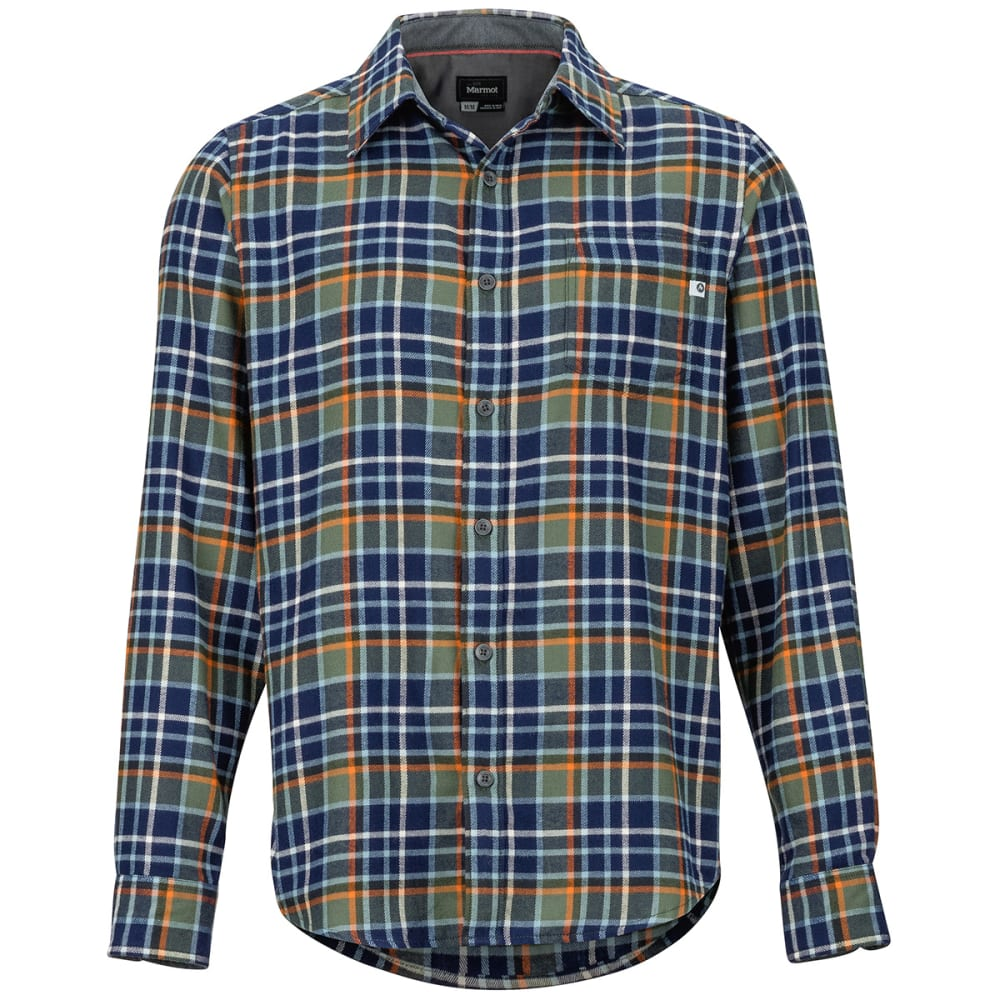 MARMOT Men's Fairfax Flannel Long-Sleeve Shirt S