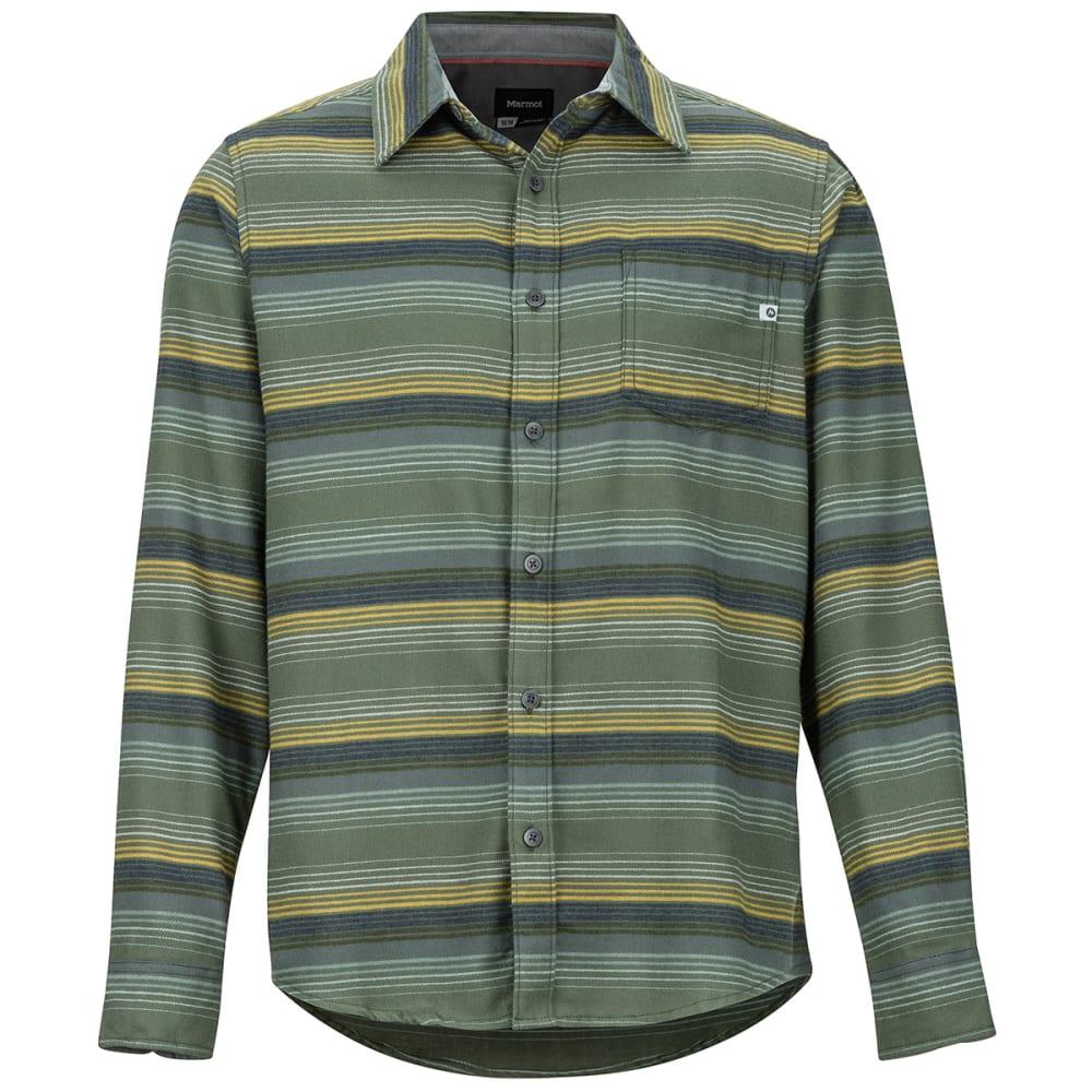 MARMOT Men's Fairfax Flannel Long-Sleeve Shirt - 9142 GOLDEN LEAF