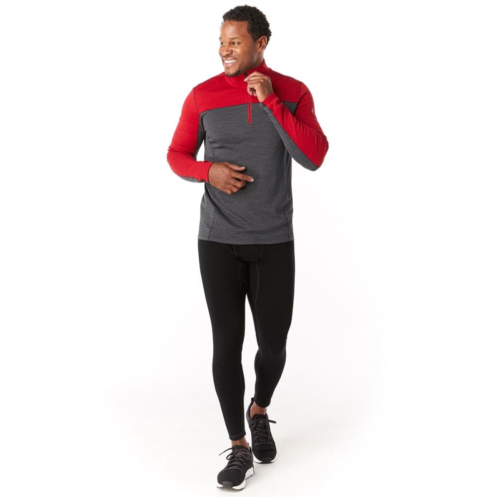 SMARTWOOL Men's Merino Sport 250 Long-Sleeve 1/4-Zip Pullover - HEATHER - B95