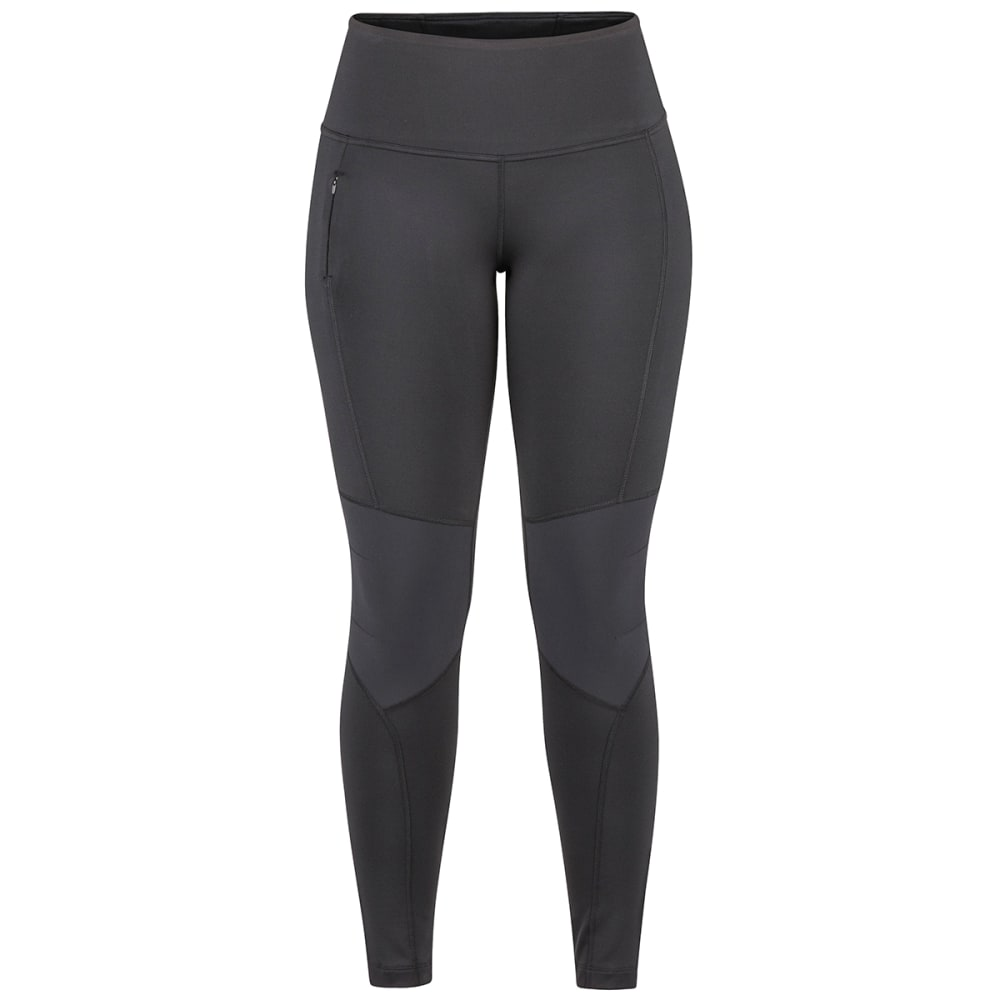 MARMOT Women's Trail Bender Tight - 001 BLACK