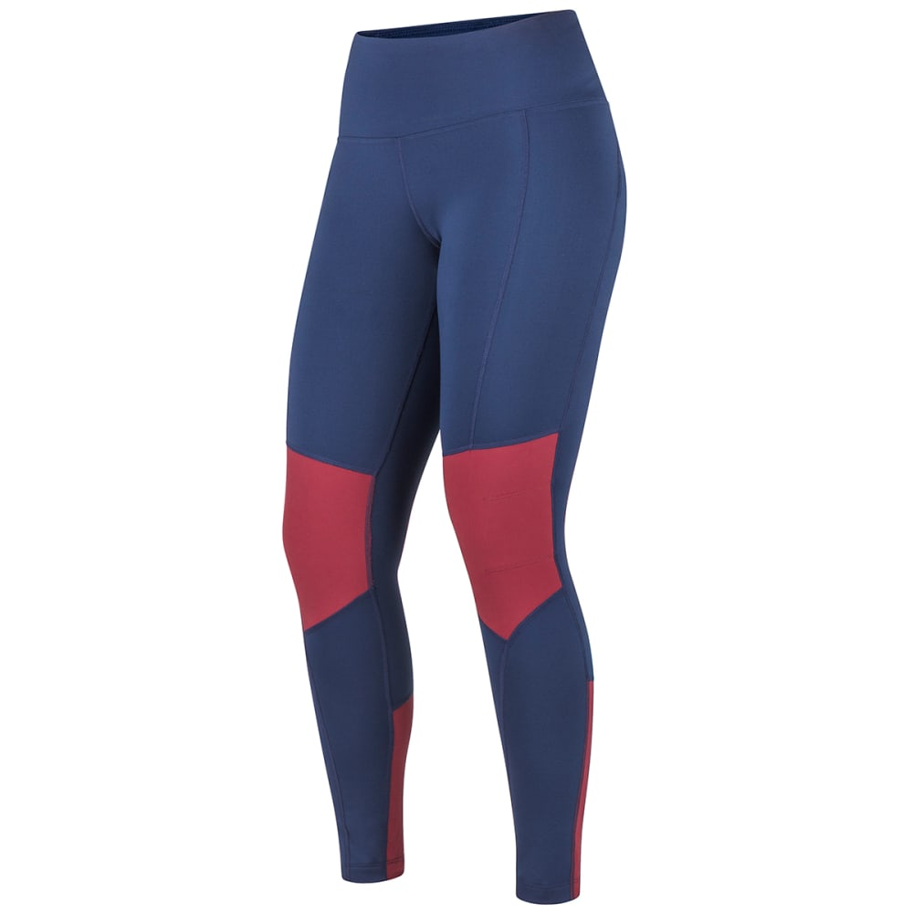 MARMOT Women's Trail Bender Tight - 4937 ARCT NVY CLARET