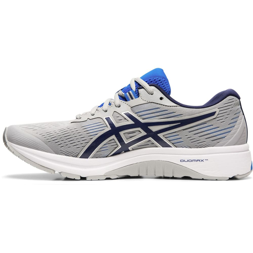 ASICS Men's GT-1000 8 Running Shoes - GREY/PEACOAT-020