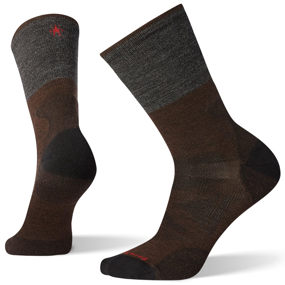 SMARTWOOL Men's PhD Pro Approach Crew Socks M