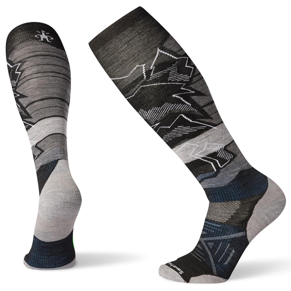 SMARTWOOL Men's PhD Ski Light Elite Knee High Socks - BLACK - 001