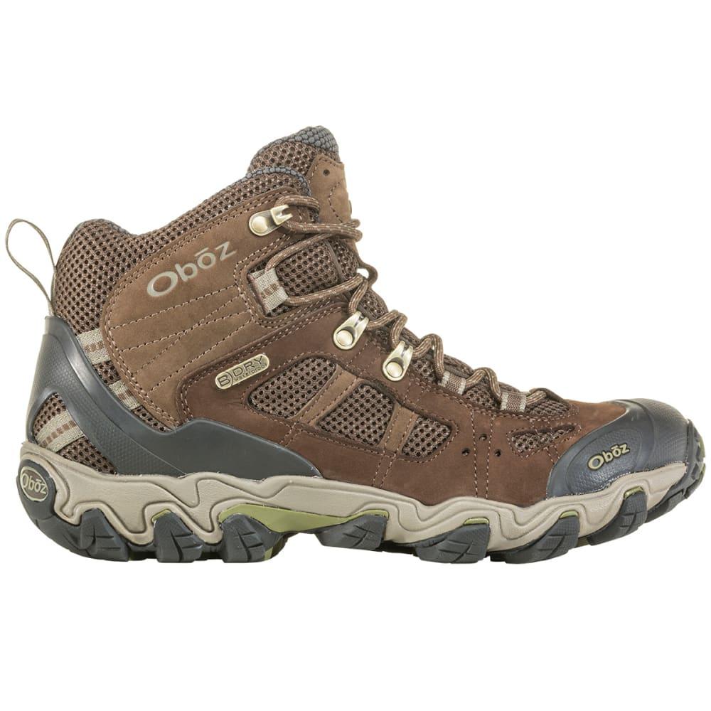 OBOZ Men's Bridger Vent Waterproof Hiking Boot, Wide - SLATE BROWN MAYFL GR