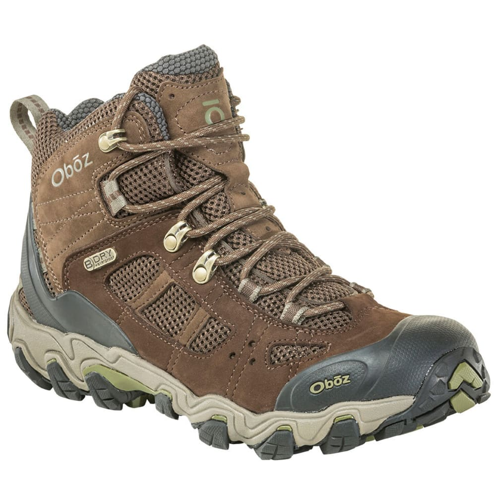 OBOZ Men's Bridger Vent Waterproof Hiking Boot, Wide 9