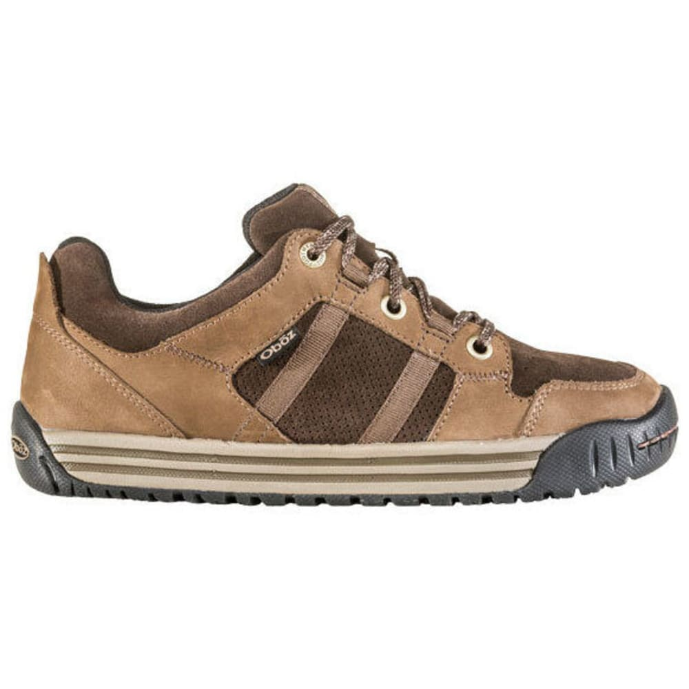 OBOZ Men's Missoula Low Shoe - WALNUT