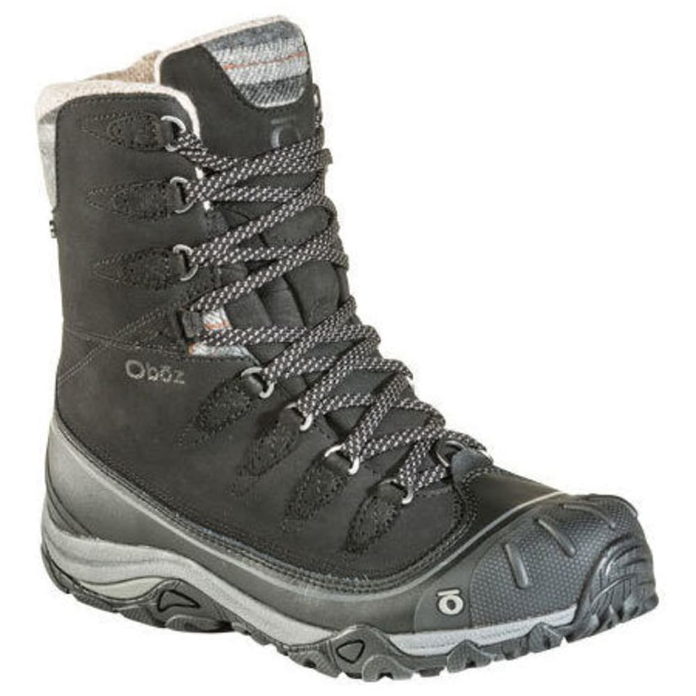 "OBOZ Women's Sapphire 8"" Insulated Waterproof Hiking Boot 7"