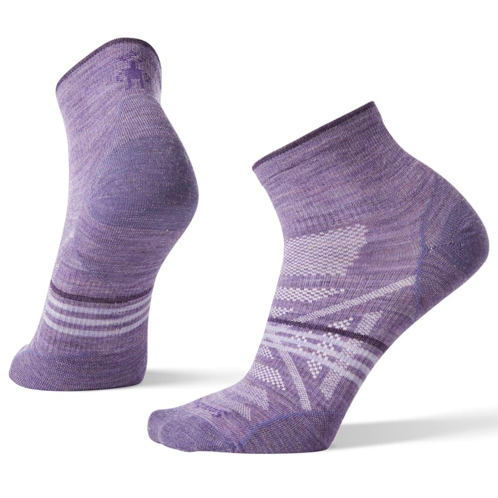 SMARTWOOL Women's PhD Outdoor Ultra Light Mini Sock - LAVENDER - 511
