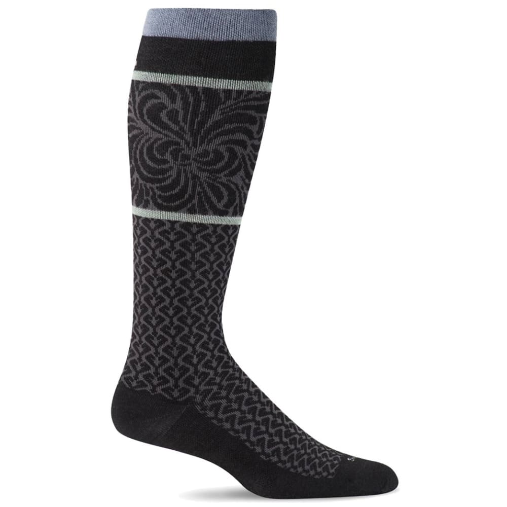 SOCKWELL Women's Art Deco Compression Socks S/M