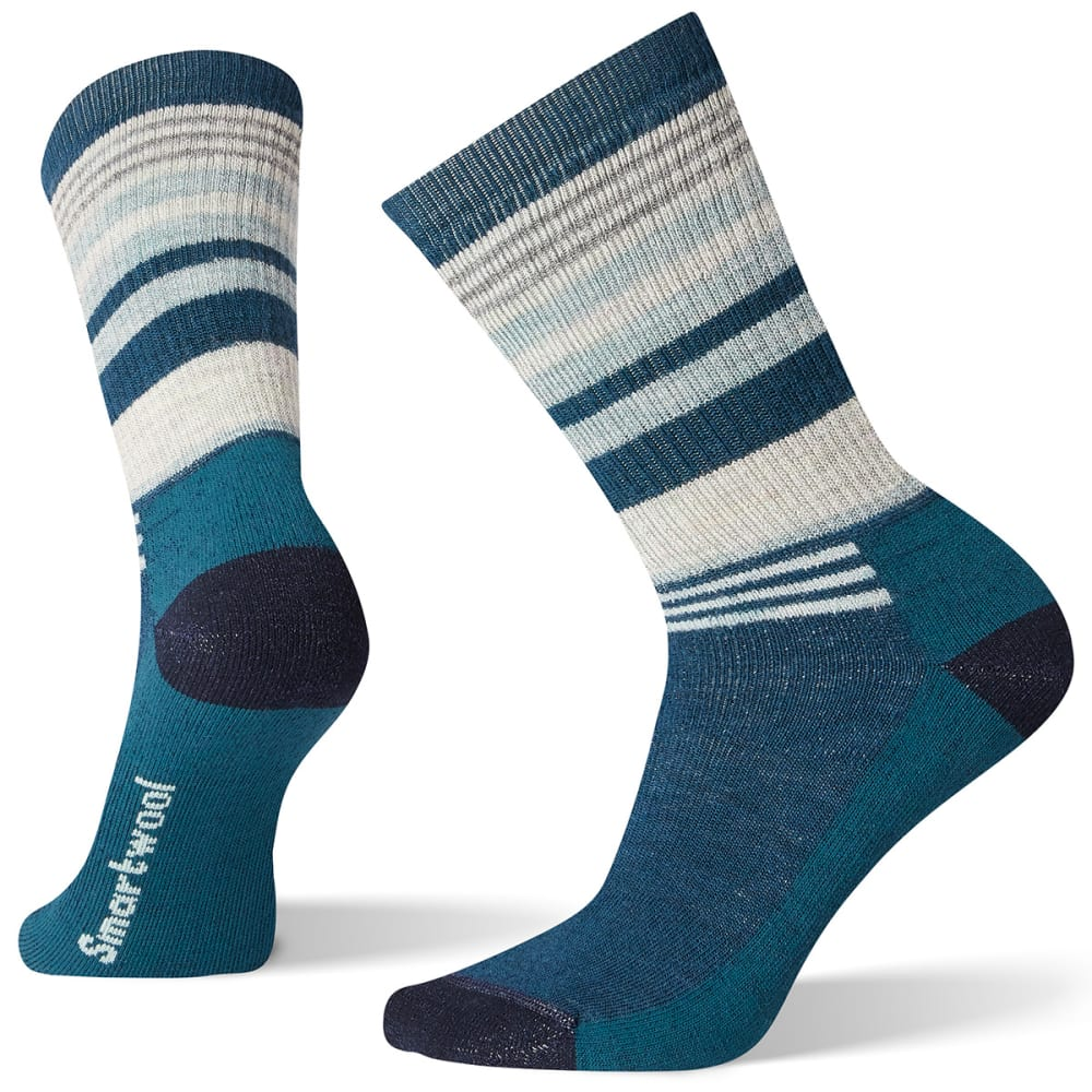 SMARTWOOL Women's Hike Crew Socks - C51 DEEP MARLIN