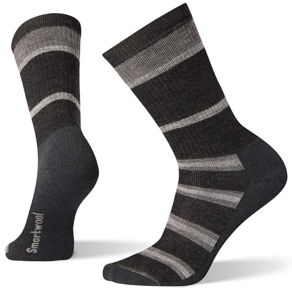 SMARTWOOL Men's Hike Crew Socks - CHARCOAL - 003