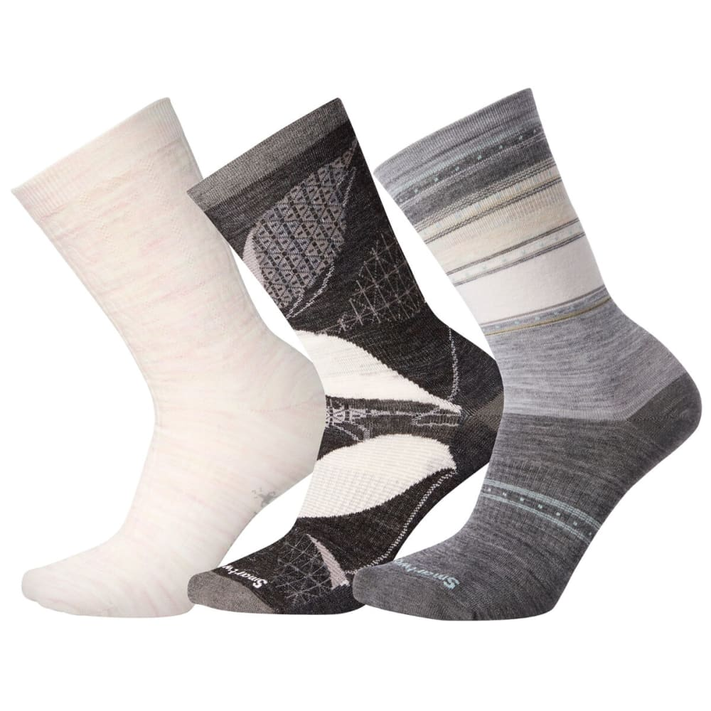 SMARTWOOL Women's Trio 2 Socks - MULTI COLOR 99A