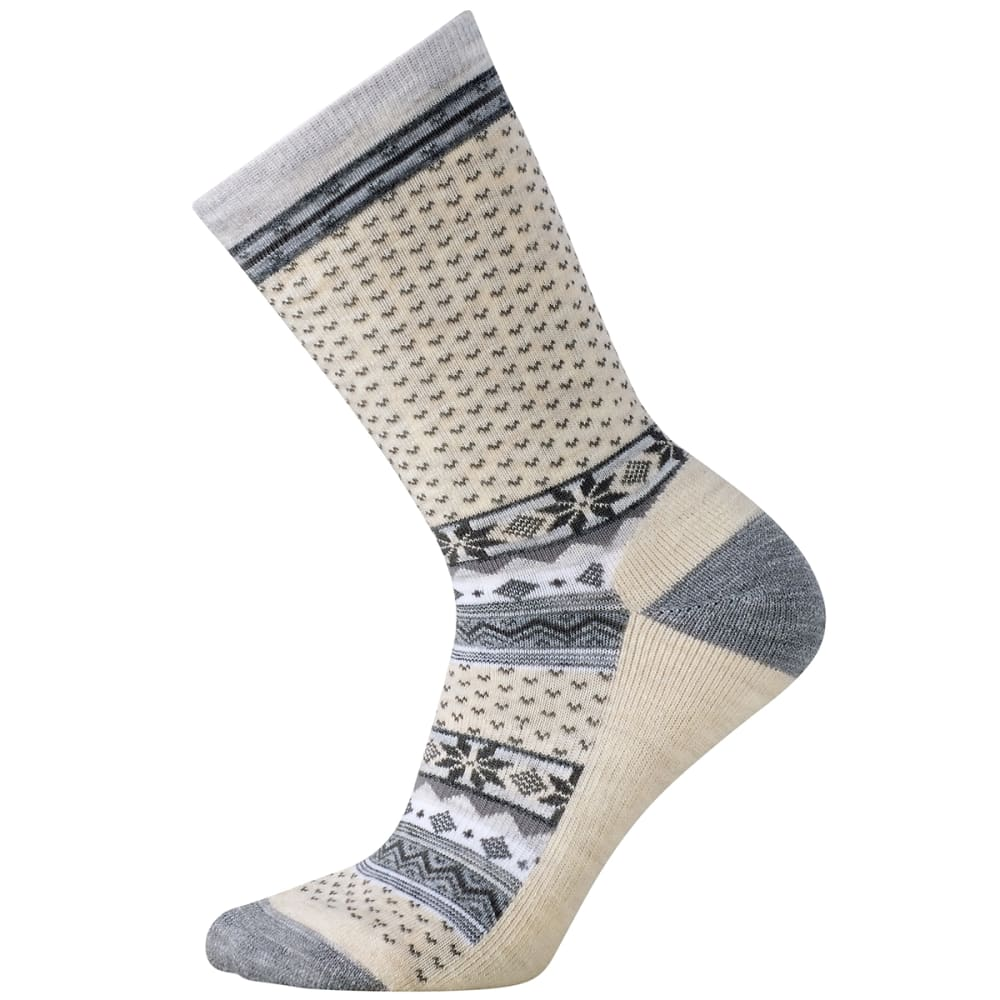 SMARTWOOL Women's Cozy Cabin Crew Socks - NATURAL - 100